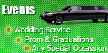 Events, Wedding Service, Prom & Graduations, Any Special Occassion