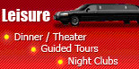 Leisure, Dinner, Theater, Guided Tours, Night Clubs